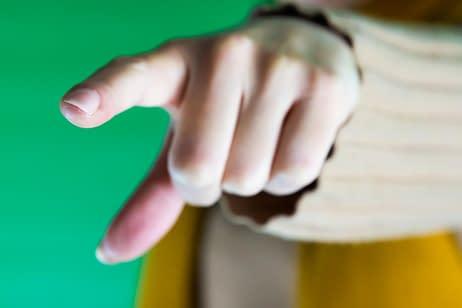 Presenteren met je handen - wijzen