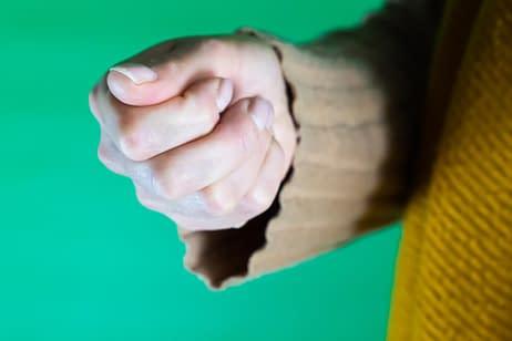 Presenteren met je handen - Het Rutte Duimpje